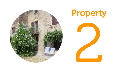 AWAY Property 2: Four-bedroom house and gite in Aude