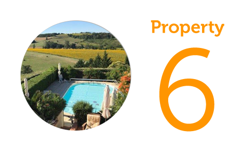 AWAY Property 6: Four-bedroom house in Mirepoix
