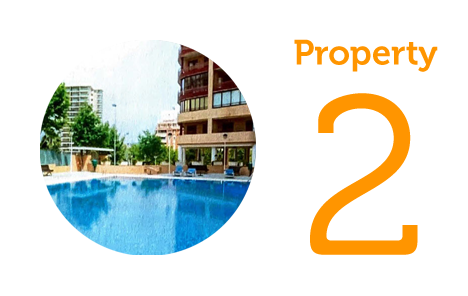 AWAY Property 2: Two-bedroom apartment in Calpe