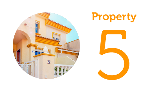 Property 5: Three-bedroom townhouse in Orihuela Costa