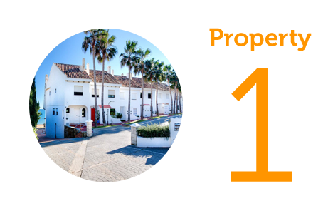 Property 1: Four-bedroom house in Estepona