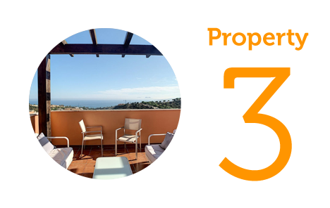 Property 3: Three-bedroom penthouse in Punta Chullera