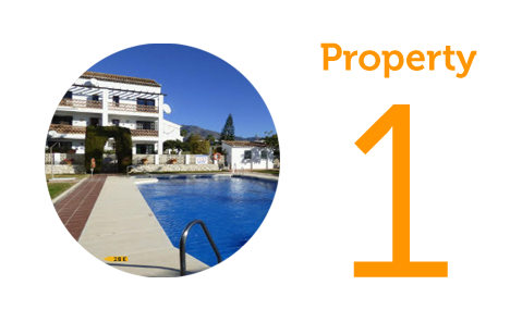 Property 1: One bed apartment in Mijas Golf
