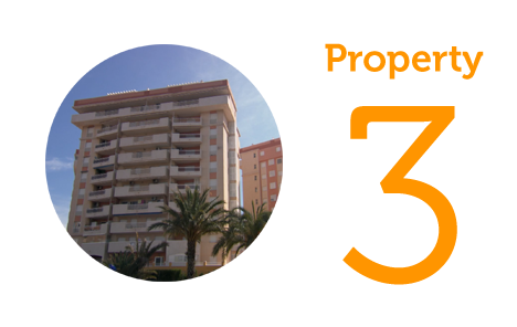 Property 3 Three-bed apartment in La Manga