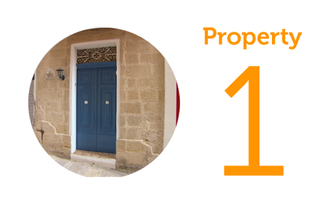 Property 1 One-bed apartment in Cospicua