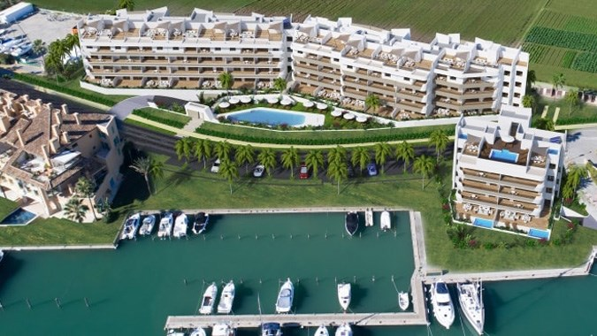 Pier 2, Sotogrande, Cadiz, Costa del Sol, Spain from €342,000