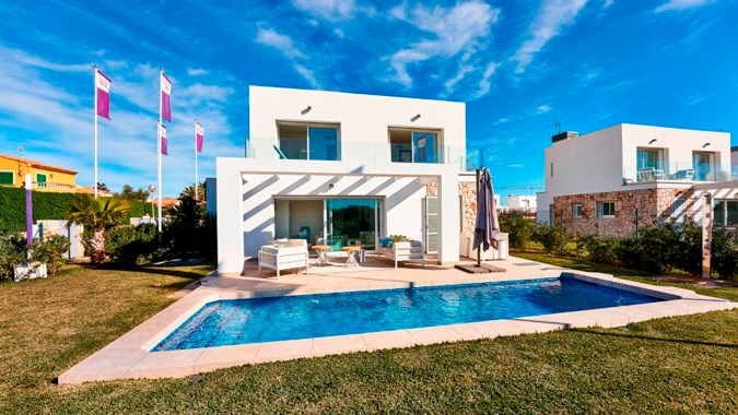 Villas De Dalt Sa Rapita, Mallorca, Spain from €480,000