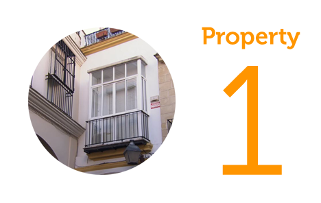 Property 1 One-bed apartment in San Miguel