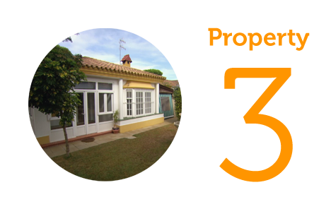 Property 3 Three-bed villa in La Barrosa Beach