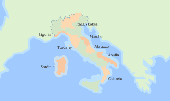 Interactive Map Of Property In Italy