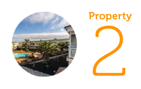 Property 2: One bed apartment in Corralejo