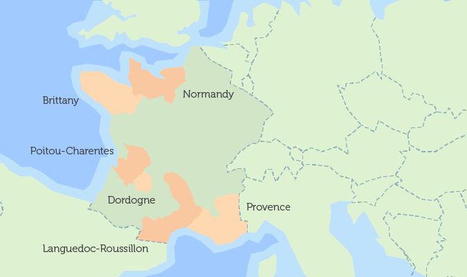 Poitou France Map.Interactive Map Of Property In France