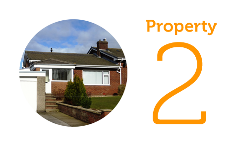 Property 2: Two-bed bungalow in South Lancaster