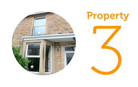 Property 3: Three-bed terraced house in Bowerham