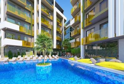 large-communal-pool--top-quality-apartments-in-alanya