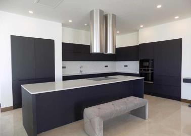 modern-kitchen--luxury-sea-view-villas--bodrum