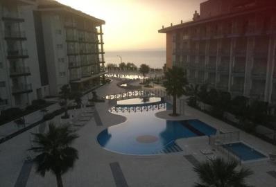 complex-at-night--ramada-resort-apartment--kusadasi