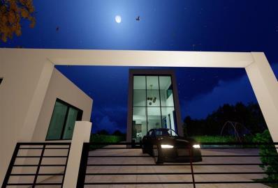 gated-entrance--modern-villa-in-belek-centre