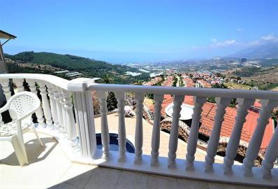large-balcony--key-ready-sea-view-villa--alanya