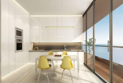 modern-kitchen--marina-view-apartments--istanbul