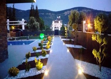 garden-and-pool-at-night