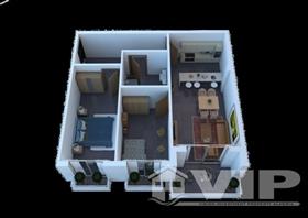 Image No.13-Appartement de 1 chambre à vendre à Turre