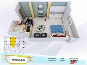 Marina-View-studio-apartments-103--203--303-and-403