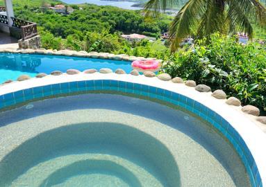 St-Lucia-Homes---Villa-Cadasse---hottub-pool