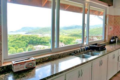 St-Lucia-Homes---Villa-Cadasse---kitchen-sink-view