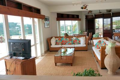 St-Lucia-Homes---Villa-Cadasse---living---view