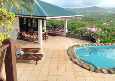 St-Lucia-Homes---Villa-Cadasse---pool-patio
