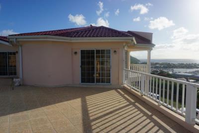 st-lucia-homes---Bed-Marina-Villa---balcony-view