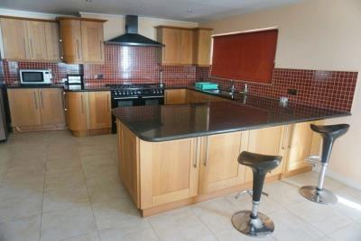 st-lucia-homes---Bed-Marina-Villa---Kitchen