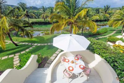 St-Lucia-Homes---CAP131---Villa-Cyrus--bedroom-balcony-view