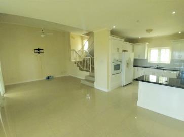 St-Lucia-Homes---MON038---Ocean-Breeze-Villa---kitchen-livingroom