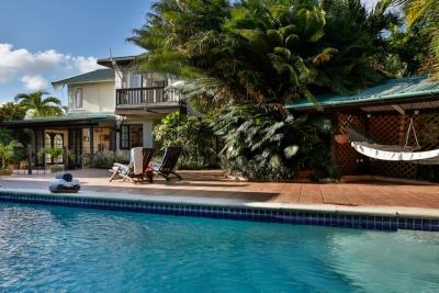7-Very-Private-Pool-covered-hammockseating-area-split-level-pool-terrace-Plantation-House-