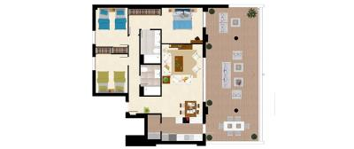 Plan-2---Botanic_Apartment_TIPOB
