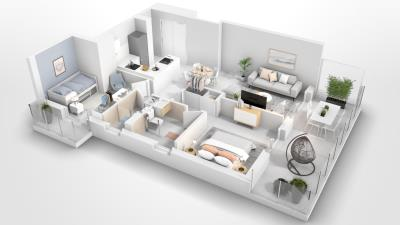 P1-Compass-2-bed-apartment