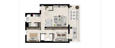 Plan_2_Harmony_apartments_2_beds_First_floor