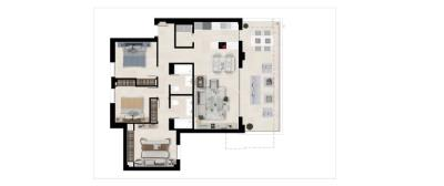 Plan_4_Harmony_apartments_3_beds_First_floor