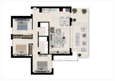 Plan2_The-Crest_apartments_La-Quinta_Benahavis_TIPOA-_PENTHOUSE