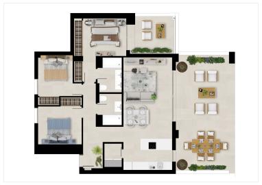 Plan2_Marbella_Lake_apartments_3D-BAJA