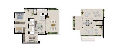 Plan5_UNIDO_Marbella_Lake_apartments_3D---PENTHOUSE-FIRST-FLOOR---Group