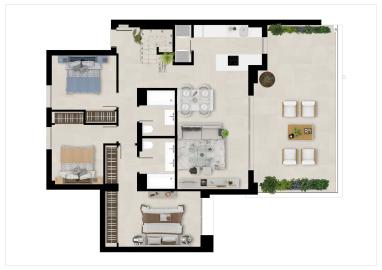 Plan5_Marbella_Lake_apartments_3D-DUPLEX