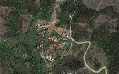 Localização na Aldeia