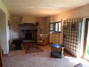 Casale dell'Olmo - The ground floor living room