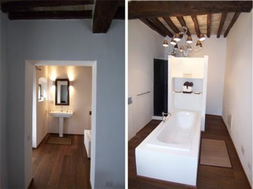 Casale Fiordaliso - An apartment bathroom
