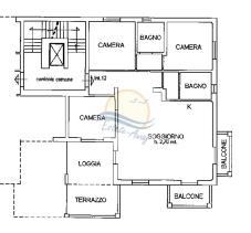 Image No.17-Appartement de 3 chambres à vendre à Bordighera