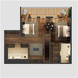 Image 15 of 17 : 3 Bedroom Apartment Ref: ASA223B