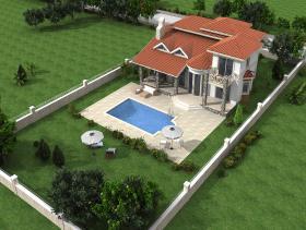 Image No.3-Bungalow de 4 chambres à vendre à Ovacik